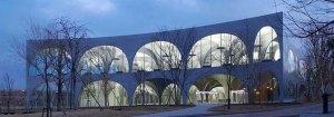 toyo ito - Nueva Biblioteca para la Universidad de Arte de Tama, Hachioji, Japón 2004